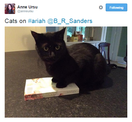 1/1 cats agree: you should read ARIAH
